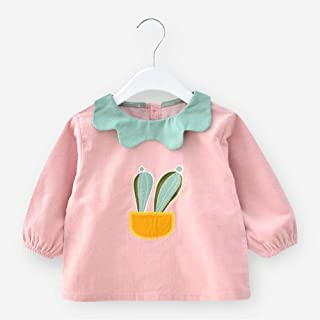 0-4 Years Old Baby Anti-smudge Long-sleeved Bib Waterproof Anti-wearing Baby Eating Clothes Bib For Infant Toddler (Color...