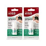 Kiss Products Maximum Speed Nail Glue BK135 (2 Pack)