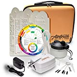 Airbrush Cake Decorating Kit - Watson and Webb Little Airbrush, Stencil, 1 x Airbrush Cleaning Pot, Cleaning Brushes and Case