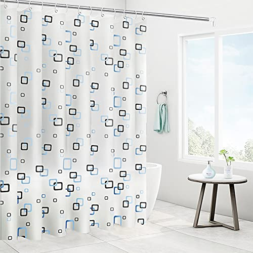 Tenda da Doccia Antimuffa, 200 x 200cm Tenda da doccia Impermeabile,Tende da Vasca da Bagno,Tenda da...