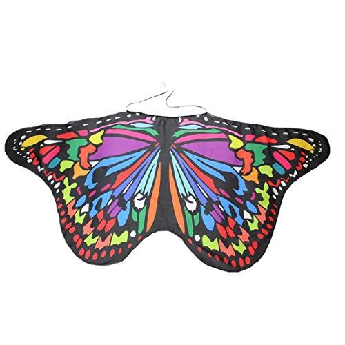 Kindertasche Hals kleiner Schmetterling Schal YunYoud strickmützen mützenschal rollkragenschal kinderhalstücher wintermütze tücher wollschal rollkragen kudibal strickschal