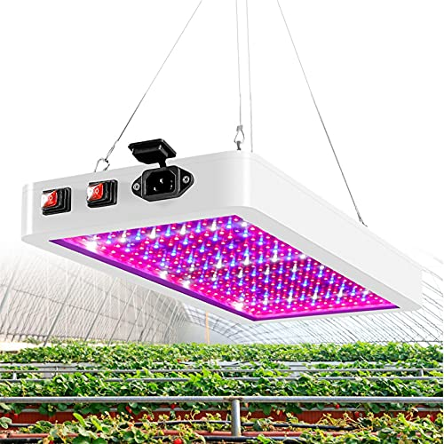 WSGLZ LED Cultive Fitolamp para Las Plantas 2000W / 1000W Full Spectrum Plant Lights Indoor Impermeable 2835 LED Fichas Sembres hidropónicos (Emitting Color : 1000W led, Plug Type : EU)