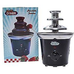 Diner Dinky ~ 23cm Schokoladenfondue (UK plug-joint/europäischen Adapter Reise erforderlich–nicht enthalten) Anweisungen englisch