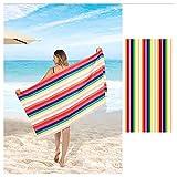 PENGDDP Toalla Microfibra Pelo ViajesToallas Playa Algodón Toalla Microfibra CocheMuy Absorbentes, Ligeras Y De Máxima Suavidad Ultraligera Y De Secado Rápido(Size:160x80cm,Color:1)