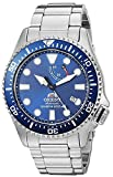 Orient Men's Neptune Japanese Automatic / Hand Winding Stainless Steel Bracelet Diver Watch, Blue