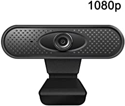 Web Camera Webcam for Pc Computer Camera Hd Webcam Built-in Mic 1080P Web Camera for Computer Pc Laptop Windows10 USB Camera Streaming Live Stream Noise Reduction-1080P