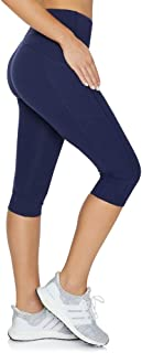 Rockwear Activewear Women's Ag Pocket Tight from Size 4-18 for Ankle Grazer High Bottoms Leggings + Yoga Pants+ Yoga Tights