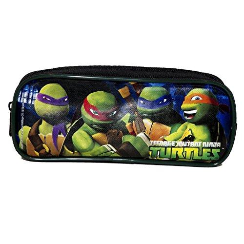 1 X Ninja Turtles Black Pencil Case