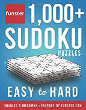 Funster 1,000+ Sudoku Puzzles Easy to Hard: Sudoku puzzle book for adults PDF