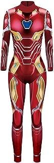 Adult Wowens Endgame Jumpsuit Superhero Captain Quantum Realm Cosplay Costume Halloween Bodysuit