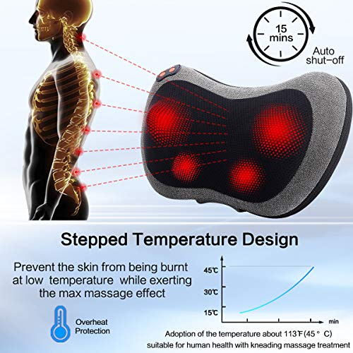 Papillon Back Massager with Heat