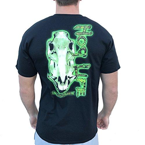 Country Life Hog Life Black Short Sleeve Shirt (Small)