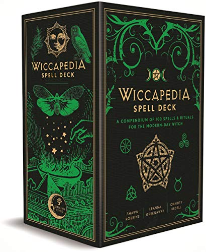 The Wiccapedia Spell Deck: A Compendium of 100 Spells & Rituals for the Modern-day Witch