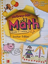 McGraw-Hill My Math, Grade K Volume 1, Teacher Edition, CCSS Common Core (2014-05-03)