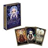 SYEA 45 Carte di Astrologia Tarocchi di Divinazione Cartas Mazzo di Carte dei Tarocchi Mazzi di Tarocchi Facili da Trasportare