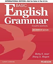 Basic English Grammar Student Book with Answer Key, International Version (4th Edition)