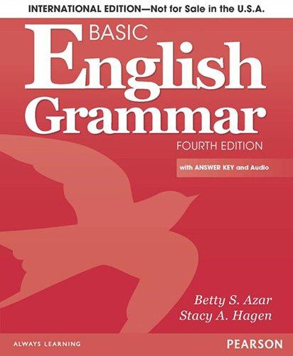 professional International Edition of Basic English Grammar Textbooks and Answer Keys (4th Edition)