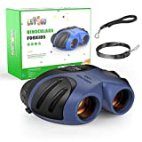 EUTOYZ Boy Gifts Age 4-10, Binoculars for Kids Toys for 3-12 Year Old Boys Gifts Idea Birthday Present Navy...