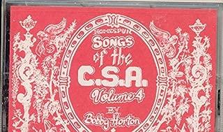 Homespun Songs of the C.S.A. The Civil War, Vol. 4
