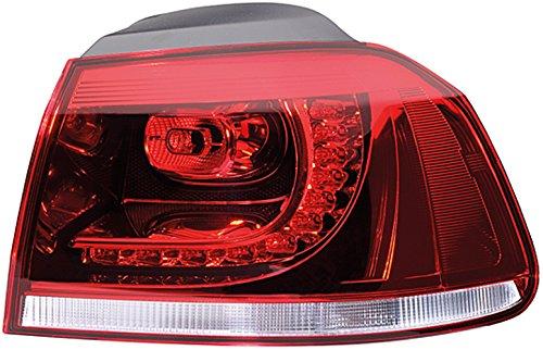 Hella Achterlicht Vw Golf 6 5K1 bouwjaar 10/08-11/13 Links rood, donker