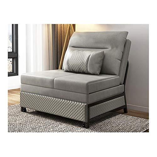 HLZY Sofá Cama Sleeper Convertible Lounge Futon Sofá, Sofá Cama Plegable telescópica de Doble propósito, sofá Cama de futón Convertible, sofá Cama súplica para niños (Size : 45in)