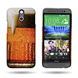 HTC One E8 (Beer Mug) Hard Design Phone Case by CoverON [Slender Fit] Series Protective Cover