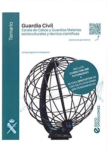 Temarioguardia civil escala de cabos y guardiasmateriassocio-culturalesytécnico-científicas