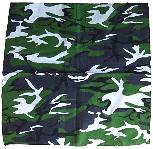 Bandana camouflage woodland camo armée us usa paintball airsoft chasse peche