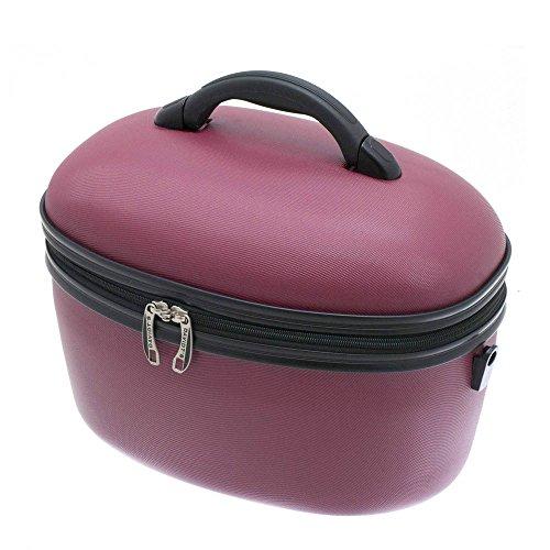 Vanity case rigide DAVIDT'S ABS Red 36 cm