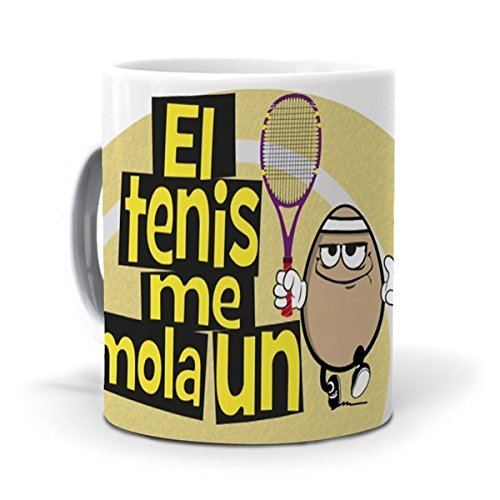 mundohuevo Taza El Tenis me Mola un Huevo