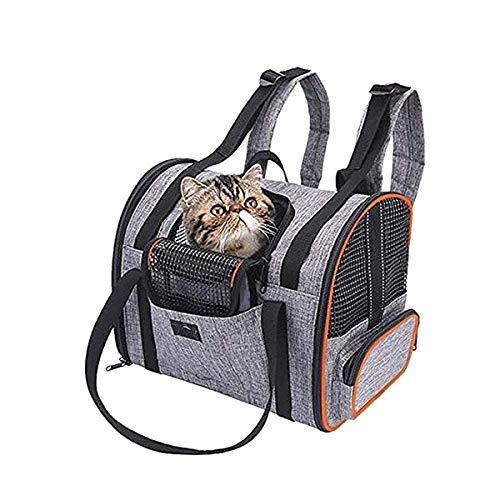 猫犬 ペットキャリー バッグリュック 小型 犬 顔 ペットキャリー リュック サック メッシュ窓3つ KYARIPEBAG