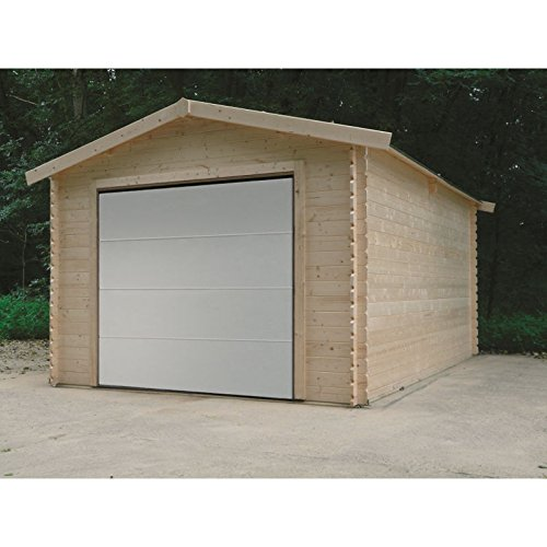 SOLID SUPERIA Garage Traditional 3580x5080 Bois, 508x358x281 cm