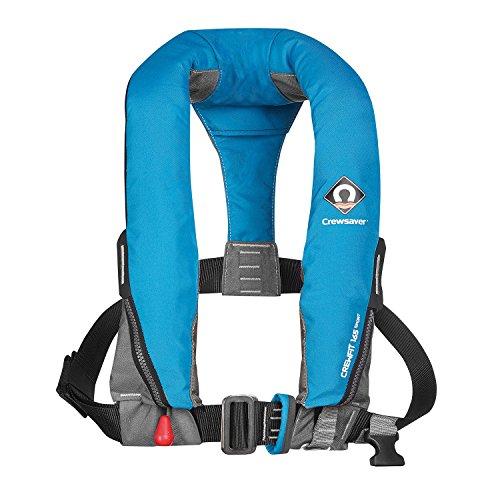 Crewsaver Bootfahren und Segeln - Crewfit 165N Sport Automatic mit Harnisch LifeCoat Jacket Coat Blue - Unisex