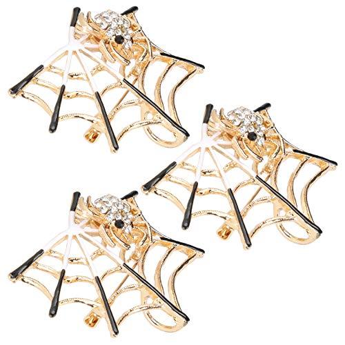 Joyas de aleación, Broche Simple, Elegante Bolso de Hombro Resistente al Desgaste para Abrigo Tipo cárdigan(CHJ-2087 Diamante Blanco)