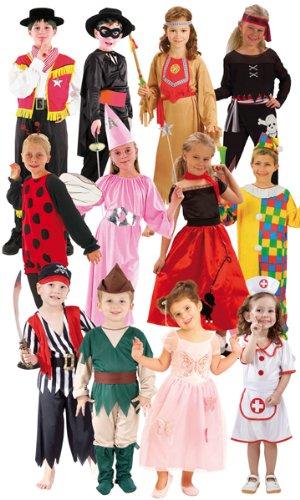 Boland - CS801004 - Assortiment 12 costumes enfants (3-4, 4-6, 7-9 ans)