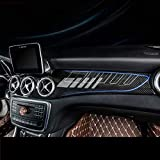 SHES per CLA W117 GLA X156 Pannello di controllo della copertura del cruscotto in ABS in f...