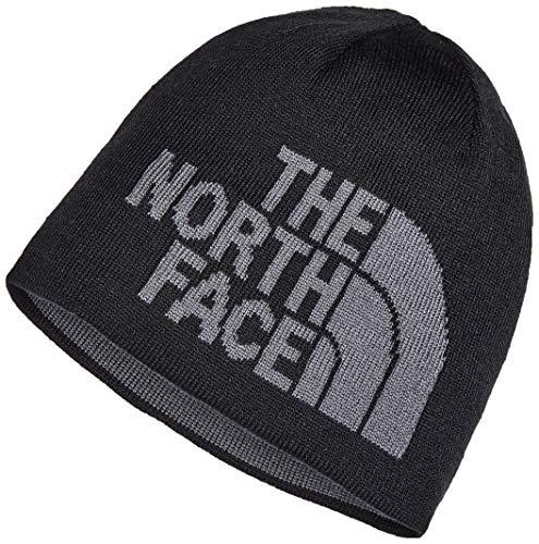 The North Face T0A5WG Gorro Highline, Unisex Adulto, TNF Black/TNF Medium Grey Heather, Talla única