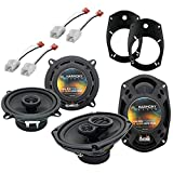 Harmony Audio Factory Replacement Speakers Compatible with Dodge Ram Truck 1500 2002-2008
