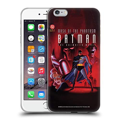 Head Case Designs Oficial Batman DC Comics Película Animada Fantasmo Joker Disfraces icónicos Carcasa de Gel de Silicona Compatible con Apple iPhone 6 Plus/iPhone 6s Plus