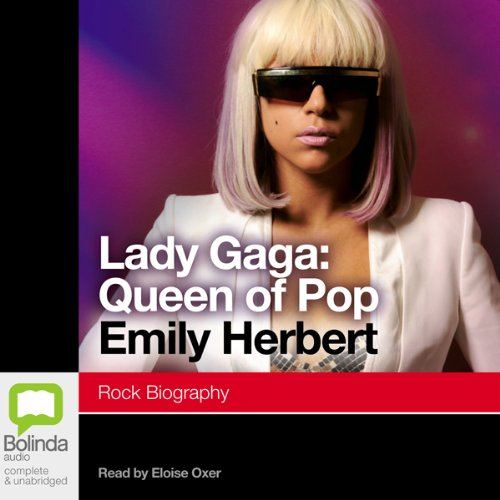 Lady Gaga: Queen of Pop audiobook cover art