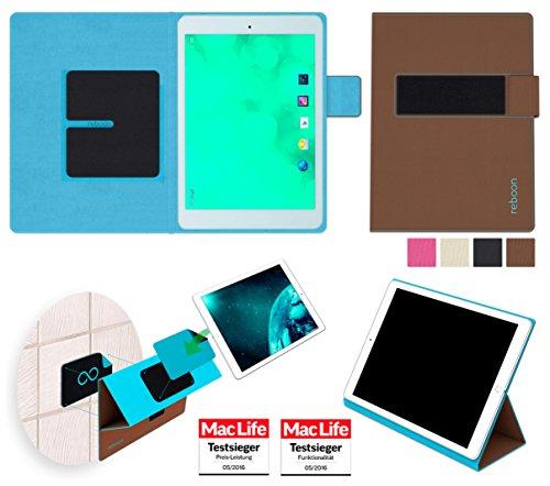Hülle für Blaupunkt Polaris 7 Tasche Cover Hülle Bumper | in Braun | Testsieger