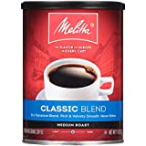 Melitta Classic Blend Coffee, Medium Roast, Extra Fine Grind, 11 Ounce Can (Pack of 6)