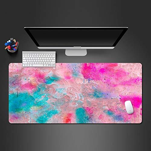 BILIVAN 3D-Mauspad, bunt, kreativ, sehr beliebt, Gamer, Wettbewerb, Mauspad, Laptop, Tastatur, großes Mauspad (800 x 300 x 3 mm)