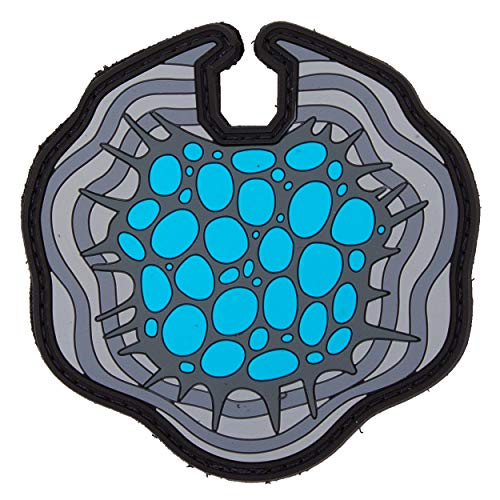 TACOPSGEAR Altered Carbon - Cortical Stack 3D PVC Patch Glow in Dark