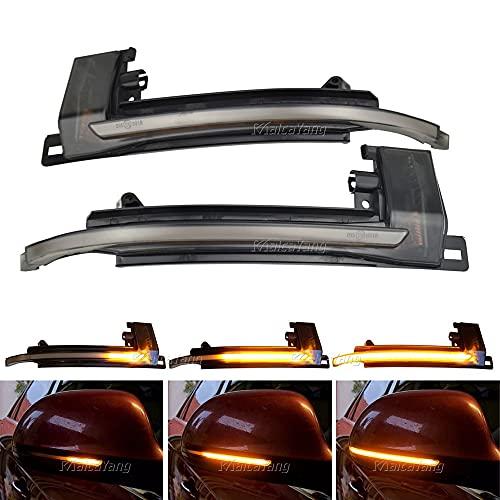 dinamiche indicatori di direzione una coppia specchio luci led per A3 8P A4 S4 B8 A5 S5 B8 A6 S6 4F C6 A8 S8 D3 Q3 SQ3