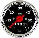 Tacho Tachometer 48mm VDO Mofa Moped Hercules Sachs Puch Kreidler Zündapp