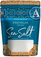 Artisan Salt Company Pure Ocean Premium Sea Salt, Zip-Top Pouch, 4 Ounce