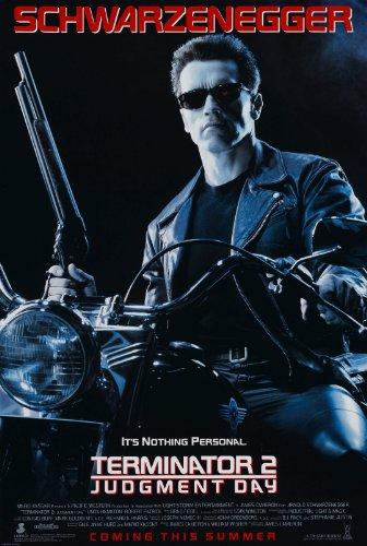 Póster de la película Terminator 2, 30,5 x 20,5 cm