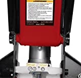 Blackhawk B6350 Black/Red Fast Lift Service Jack - 3.5 Ton Capacity