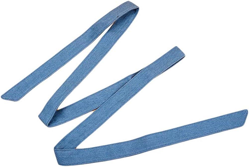Girls Denim Waist Belt Blue Jean Waist Rope Tiny Belt for Pants Dress Jeans JW64